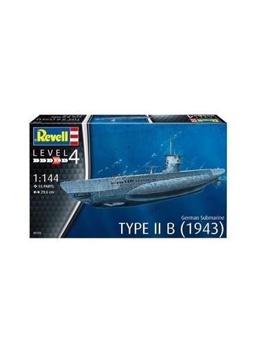 Revell  Maket Submarine Type IIB 05155 Renkli